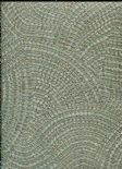Toscani Wallpaper Pave Sage/Copper  35673 By Holden Decor For Colemans